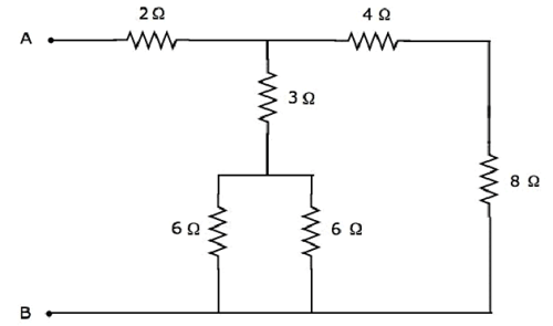 Find The Equivalent Resistance Of The Resistor Network