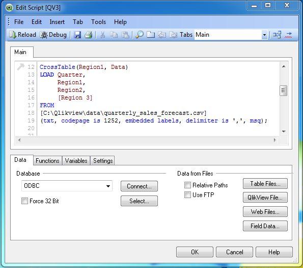 Cross Table In Qlikview Script | Brokeasshome.com