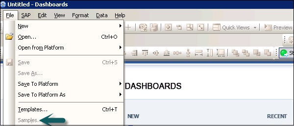 sap dashboards - version tutorialspoint