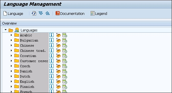 SAP PM Creating Multilingual Text