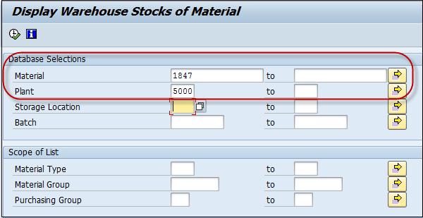SAP PP Stock Of Multiple Materials
