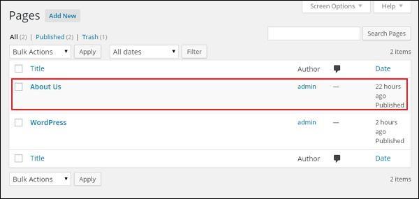 WordPress Add Comments