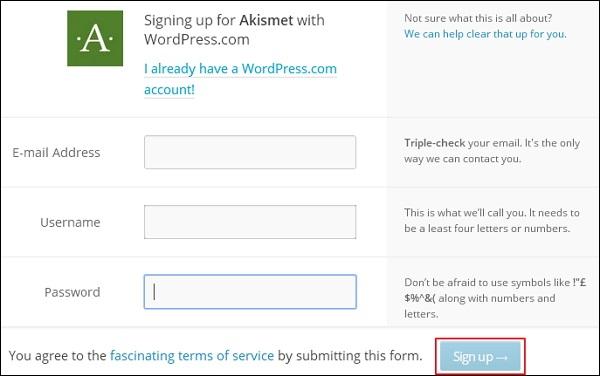 WordPress Spam Protection