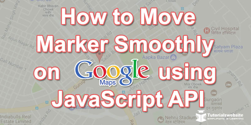 google-maps-api-marker-smoothly
