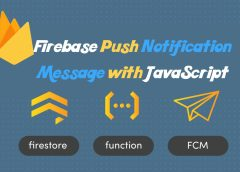 Firebase Push Notification Message with Javascript