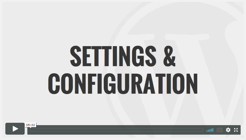 Settings & Configuration