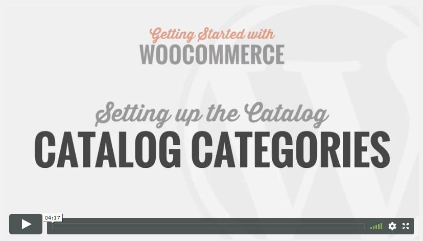 Catalog Categories