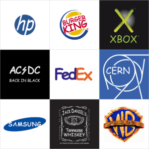 Logos modificados com Comic SAns