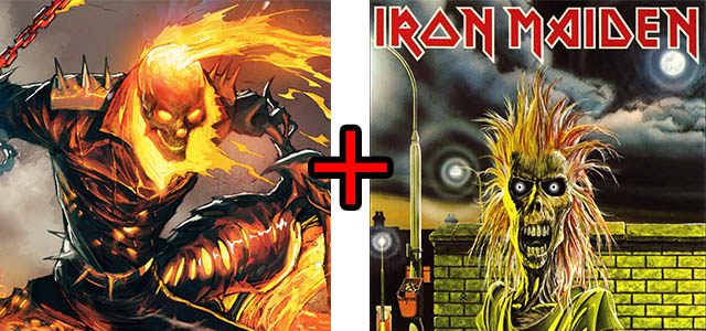ghost rider iron maiden