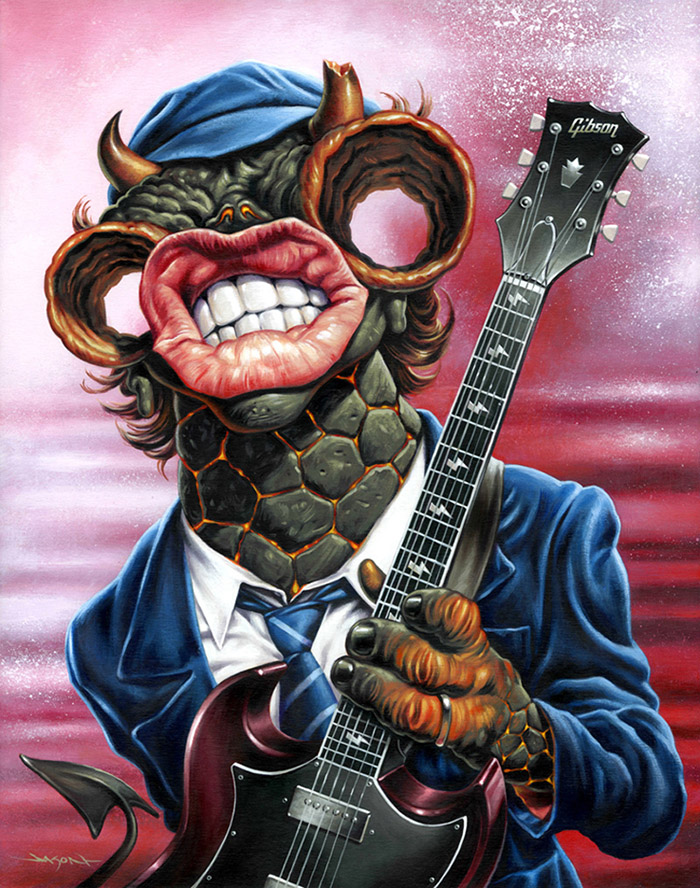 Angus Monsters of Rock de Jason Edmiston