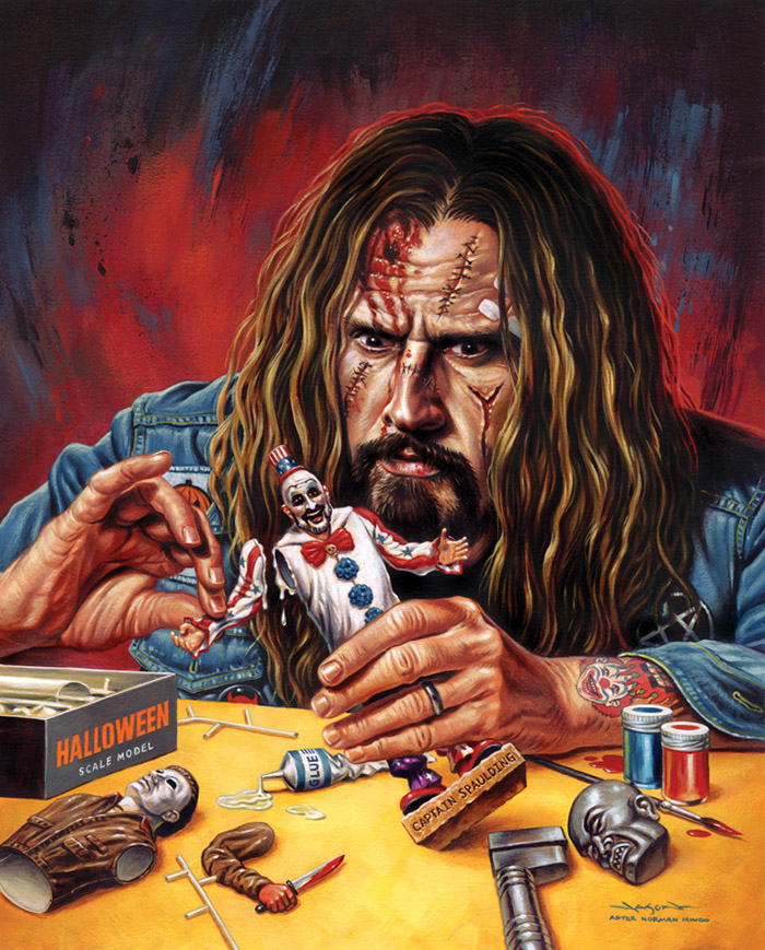 Rob Zombie Horrorhound de Jason Edmiston