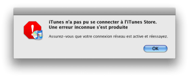 solution erreurs itunes