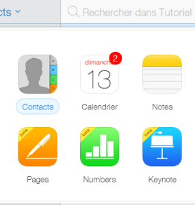 Contacts iCloud