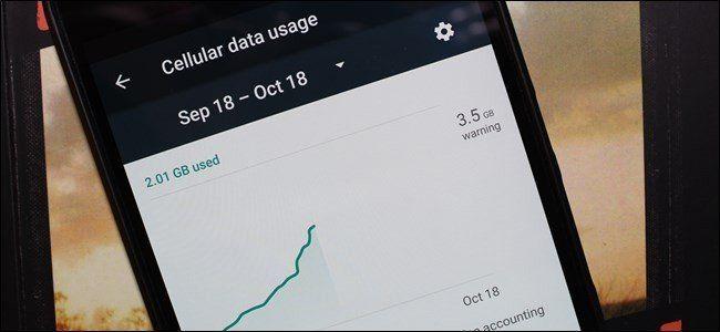l'utilisation de données