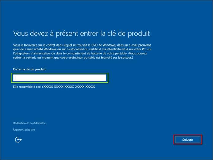 clé dactivation windows 10 famille gratuit 2018