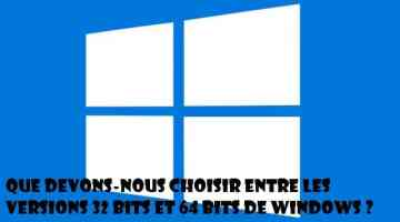 64 ou 32 bits Windows