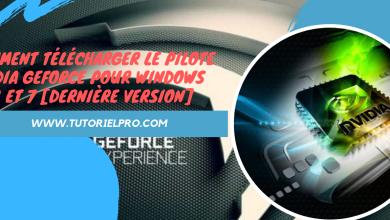télécharger NVIDIA GeForce pour Windows 10