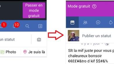 Facebook mode payant et gratuit