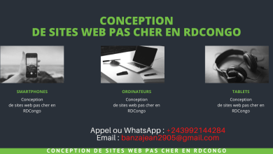Conception de sites web pas cher en RDCongo