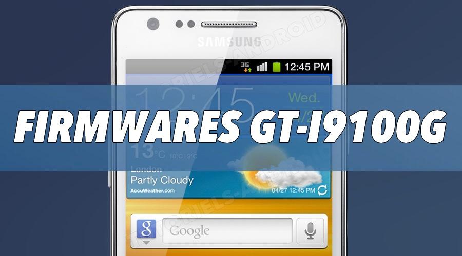Firmwares pour GT-I9100G