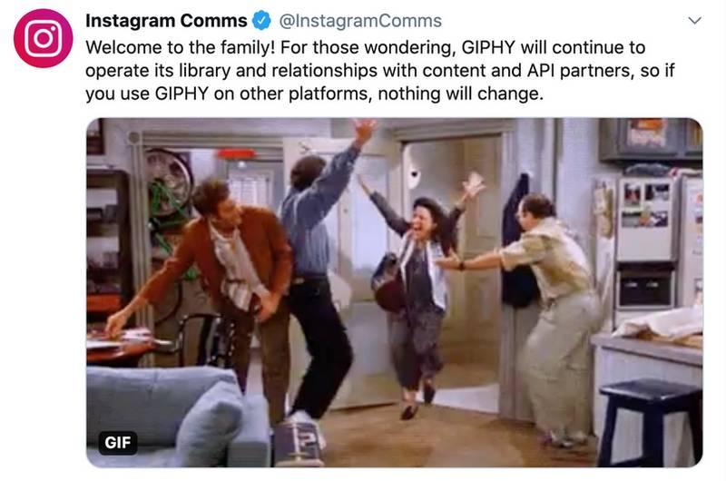 Facebook achète GiPHY