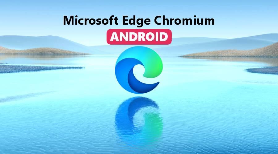 Microsoft Edge basé sur Chrome