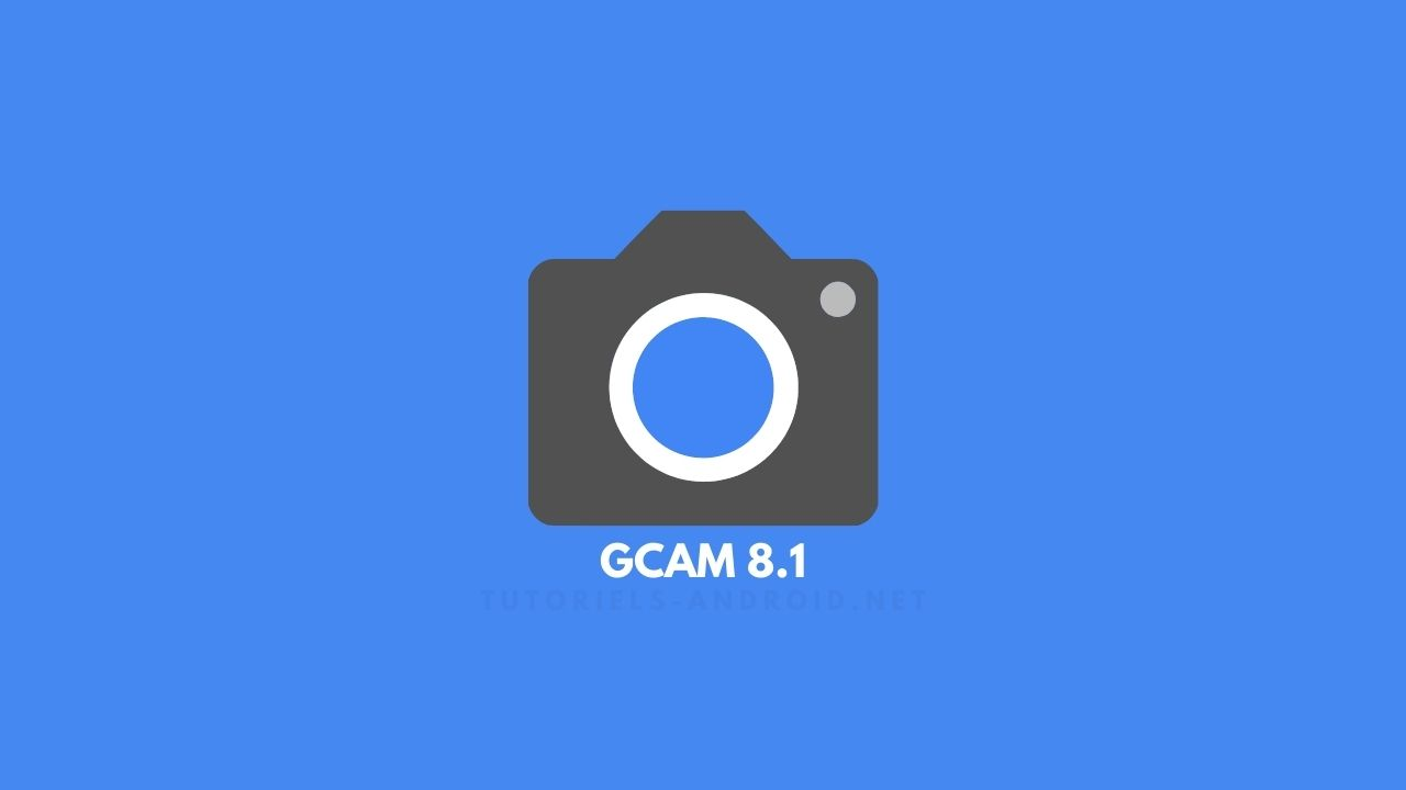 Appareil photo Google v8.1