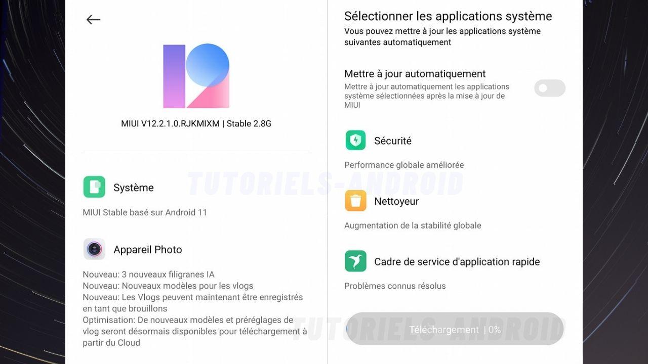 MIUI 12 Android 11 pour POCO F2 Pro