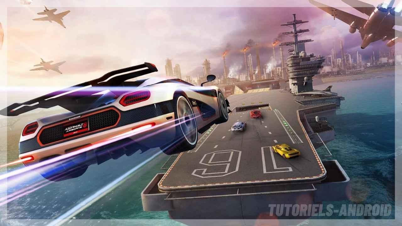 Gameloft SE - Asphalt 8 pour Android