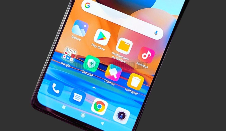 Redmi Note 10 Pro écran trop sensible
