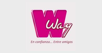 Agencias way en confianza entre amigos, logotipo de agencias que venden linea blanca en Guatemala