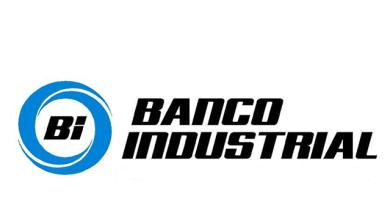 Logo del Banco Industrial, el banco más grande de Guatemala