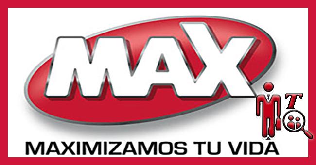 Logotipo de tienda de tecnologia en Guatemala Max de Distelsa.