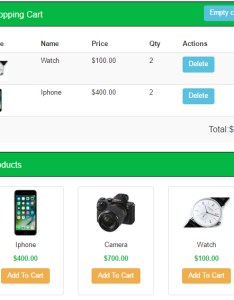 How does php shopping cart work also simple application for beginners tutsplanet rh