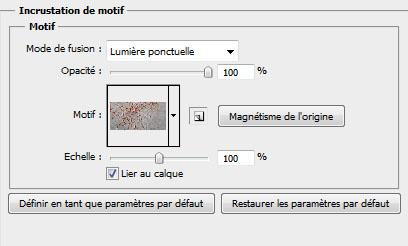 Effet de lave sur texte avec photoshop