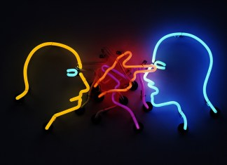 Bruce-Nauman-Double-Poke-in-the-Eye-II-1985-2