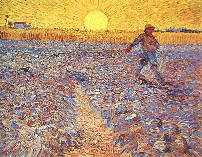 Vincent van Gogh campo grano
