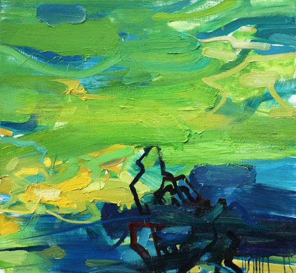 arte astratta Yuan Zuo