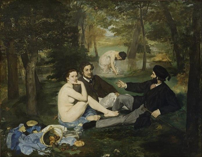 Colazione sull'erba (Le déjeuner sur l'herbe) - Édouard Manet - 1863