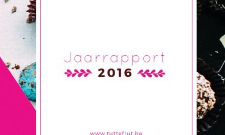 Het Tuttefrut Jaarrapport 2016