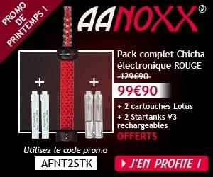 Aanoxx : une Chicha électronique portable