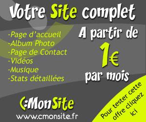 CmonSite : un site complet dès 1 euro par mois