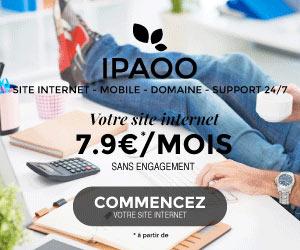 iPaoo - Créer, gérer et référencer son site facilement