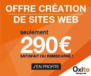 Oxito : créateur de sites Web