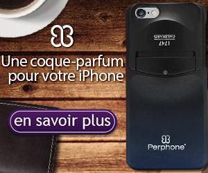 Perphone : la coque de téléphone qui parfume