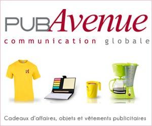 PubAvenue : boutique d'articles personnalisés pour les pros