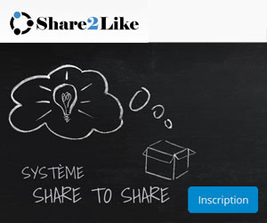 Share2Like - Service d'échange de partages Facebook