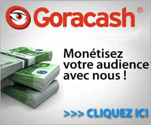 Goracash - Affiliation multi-thématiques qui rapporte