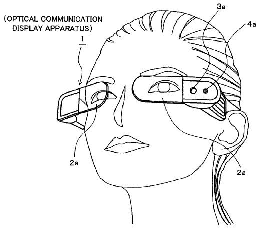 Sony deposita un brevetto simile al Google Glass