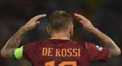 De Rossi Mani nei capelli Roma-Porto